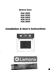 lamona hja 3300 manuals rh manualslib com lamona oven instruction manual lamona hob instruction manual