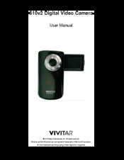 vivitar dvr 410 manuals rh manualslib com vivitar dvr 610 hd manual Vivitar DVR Directions