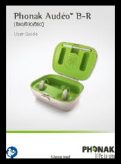 PHONAK AUDÉO B90-R USER MANUAL Pdf Download