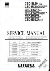 aiwa csd ex180 manuals rh manualslib com Aiwa Model Aiwa 3-Disc CD Player