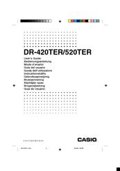 Casio dr 250hd manual.