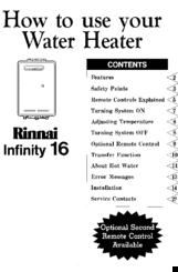 rinnai infinity 16 manuals rh manualslib com  rinnai infinity 16 service manual