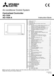 Mitsubishi Electric AG-150A-A Instruction Book