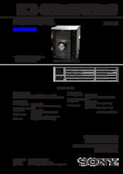 Sony HCD-GZR99D Manuals