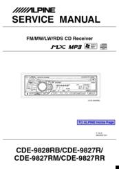 alpine cde 9842 manual open source user manual u2022 rh dramatic varieties com Alpine CDE iPod Control Alpine CDE 124