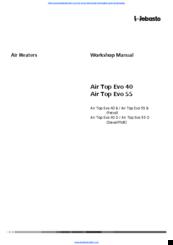 WEBASTO AIR TOP EVO 40 WORKSHOP MANUAL Pdf Download | ManualsLibManualsLib