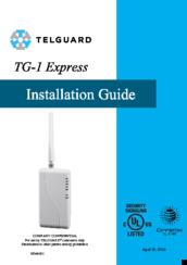 TELGUARD TG-1 EXPRESS INSTALLATION MANUAL Pdf Download