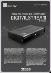 digital stream dtx9950 manuals rh manualslib com Digital Stream Players Data Stream Technologies