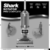 Shark Rotator uv560 Owner's Manual