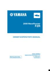 YAMAHA FZR 1800 OWNER'S MANUAL Pdf Download