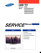 manuals and user guides for samsung un50h5203afxz  we have 1 samsung  un50h5203afxz manual available for free pdf download: service manual
