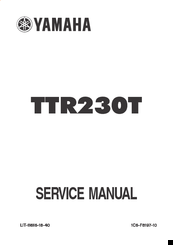 yamaha ttr230 service manual pdf download 2009 TTR 230