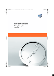 Volkswagen RNS 315 Manuals