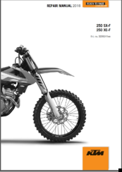 ktm 250 sxf 2016 repair manual pdf download rh manualslib com 2008 ktm 250sxf service manual ktm 250 sxf 2008 repair manual