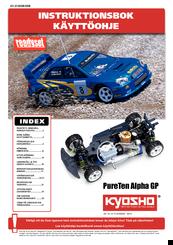 Kyosho lazer alpha 1/10 electric buggy instruction manual #3036.