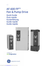 GE AF-600 FP Series Quick Manual