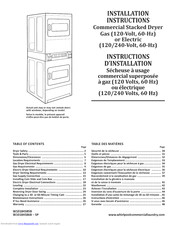 Whirlpool W10184586B Installation Instructions Manual