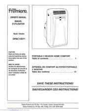 Danby Dpac10071 Manuals Manualslib