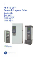 GE AF-650 GP Series Quick Manual