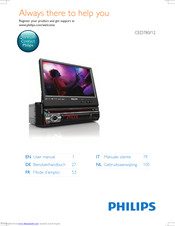 Philips CED780/12 User Manual