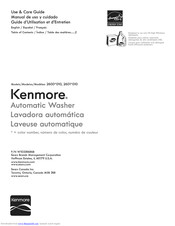 Kenmore 2600series0100 Use And Care Manual