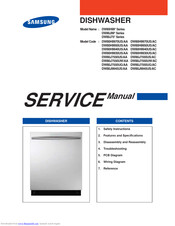 Samsung DW80H9950US/AA Service Manual
