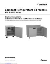 [ZTBE_9966]  DELFIELD 400 SERIES ORIGINAL INSTRUCTIONS MANUAL Pdf Download.   Delfield Freezer Wiring Diagram Mini      ManualsLib