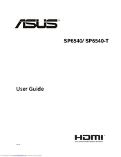 Asus SP6540 User Manual