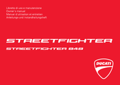 Ducati Streetfighter 848 2012 Owner's Manual