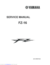 yamaha fz-16 service manual pdf download | manualslib  manualslib
