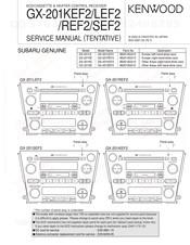 Kenwood Gx 201kef2 Service Manual Pdf Download Manualslib