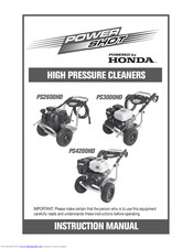 Honda PS4200HD Instruction Manual