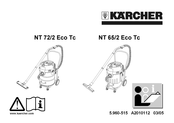 Kärcher NT 72/2 ECO TC Operating Instructions Manual