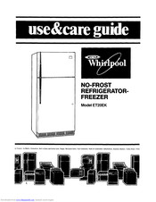 Whirlpool Estate ET20EK Use & Care Manual