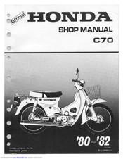 Honda C70 Manuals Manualslib
