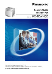 Panasonic KX-TDA100D Features Manual