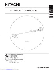 Hitachi CG 23EC (SL) Handling Instructions Manual