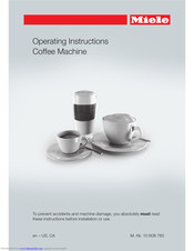 Miele CM 6110 Operating Instructions Manual