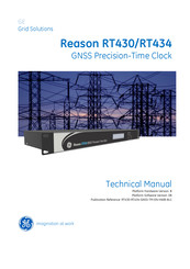 GE Reason RT430 Technical Manual