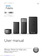 Philips Fidelio E6 User Manual