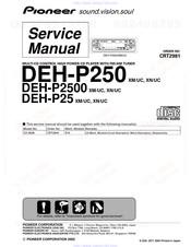 Pioneer DEH-P2500 Manuals | ManualsLibManualsLib