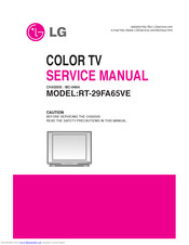 LG RT-29FA65VE Service Manual