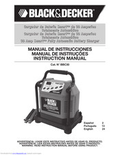Black & Decker BBC30 Instruction Manual