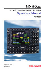 Honeywell GNS-XLS Operator's Manual