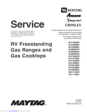 Maytag ALY2289BD series Service Manual
