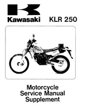 kawasaki klr 250 wiring diagram free download kawasaki klr 250 manuals  kawasaki klr 250 manuals