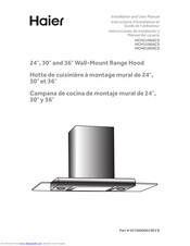 Haier HCH2100ACS Installation And User Manual