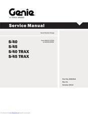 GENIE S-40 SERVICE MANUAL Pdf Download   ManualsLibManualsLib