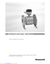 Honeywell VERSAFLOW MAG 1000 Quick Start Manual