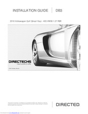 Directed Db3 Installation Manual Pdf Download Manualslib